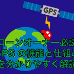 【ドローン入門】GPSの仕組み|メリットとデメリット