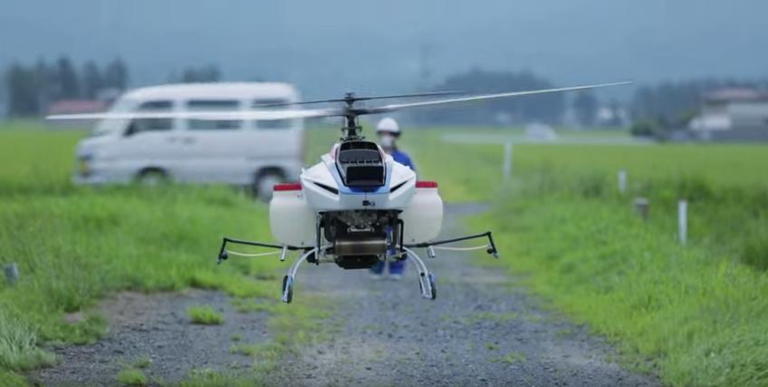 ドローンと農業|ヤマハ発動機のドローンが世界を牽引