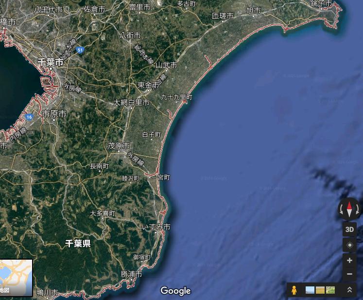 ドローン運用に積極的な千葉県で飛行可能場所について考えてみる。