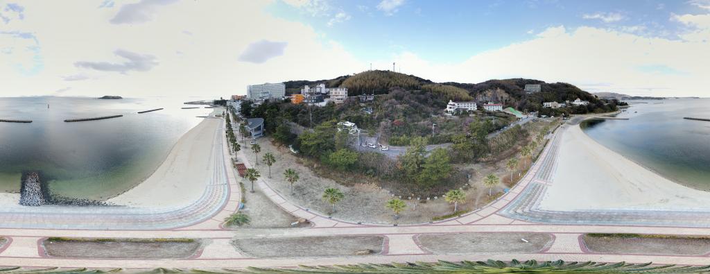 DJIのドローンでリトルプラネットを作る方法【360度VRパノラマ】