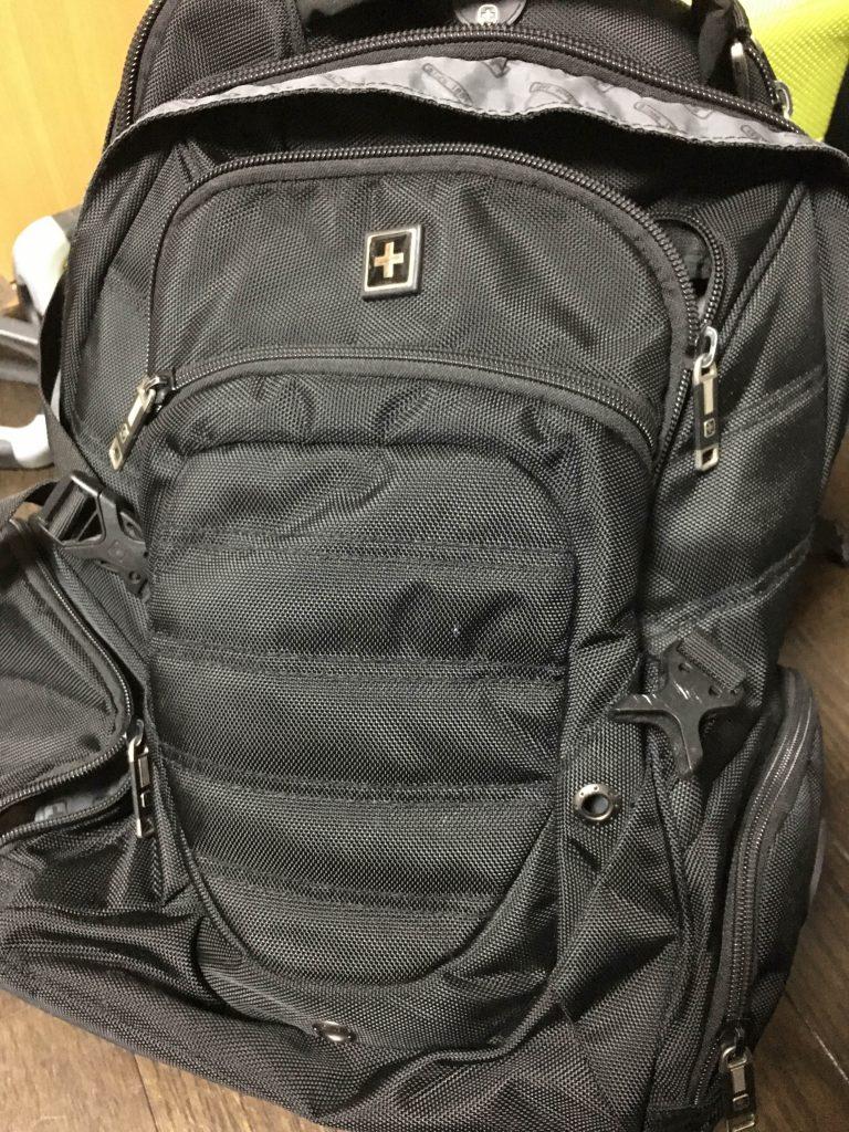 ドローンを持って海外旅行!バックパックに全て収めてみた。