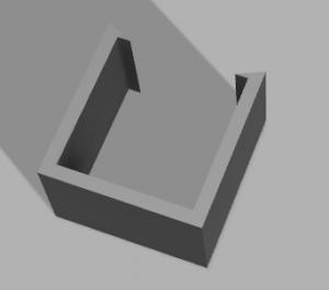 図2.バッテリーマウンター(縦が長いバッテリー用)