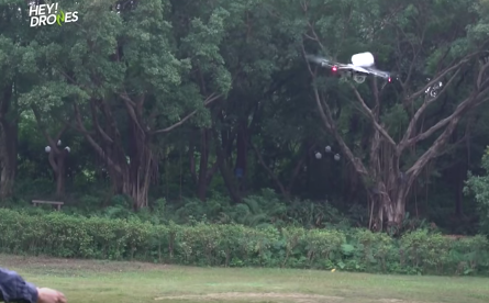プロペラ切断・重量物牽引・木の枝接触・小雨でも3.7km!Mavic PRO驚異の機体バランスに驚愕せよ!