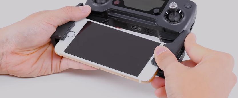 DJI Mavic PRO(マビック プロ)| モバイルデバイスの接続方法