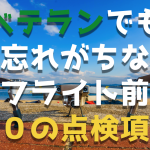 DJIドローン入門飛行前10の安全チェック項目【入門者向け】