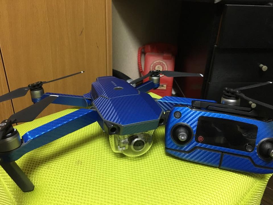 Mavic PROをもっとお洒落に!Dronewrapsを貼ってみた。
