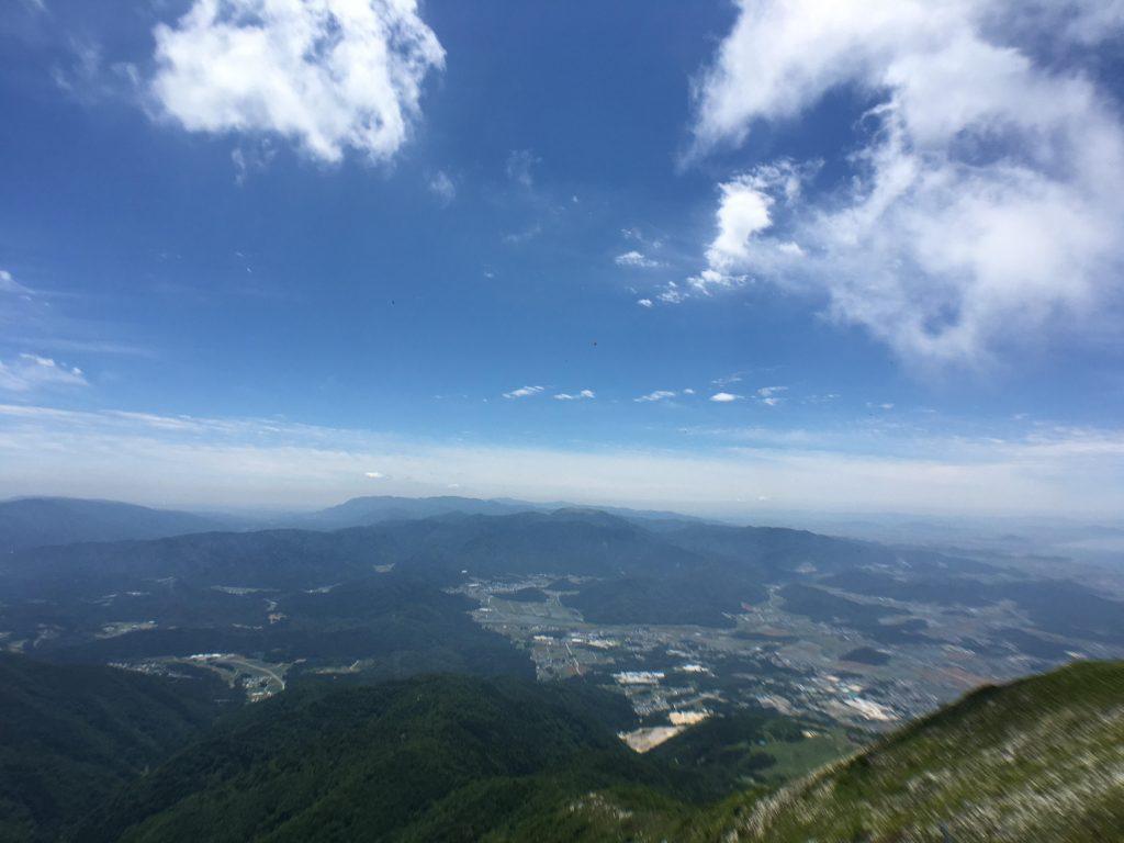 伊吹山でPhantom4ProとMavic PROでドローン空撮。