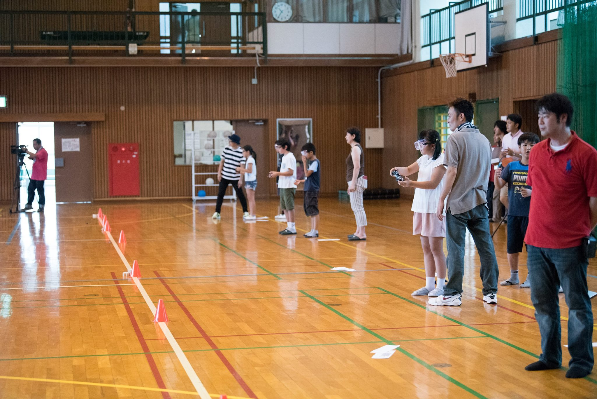子どもドローン体験教室in三重県多度イベント開催報告