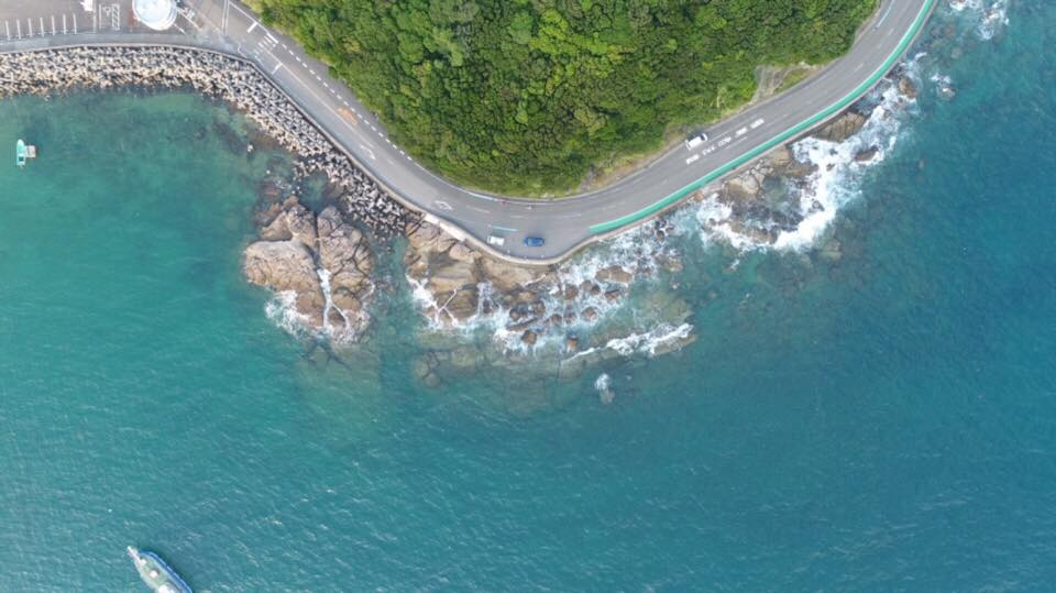 和歌山ドローン空撮|出張で和歌山県にきています。