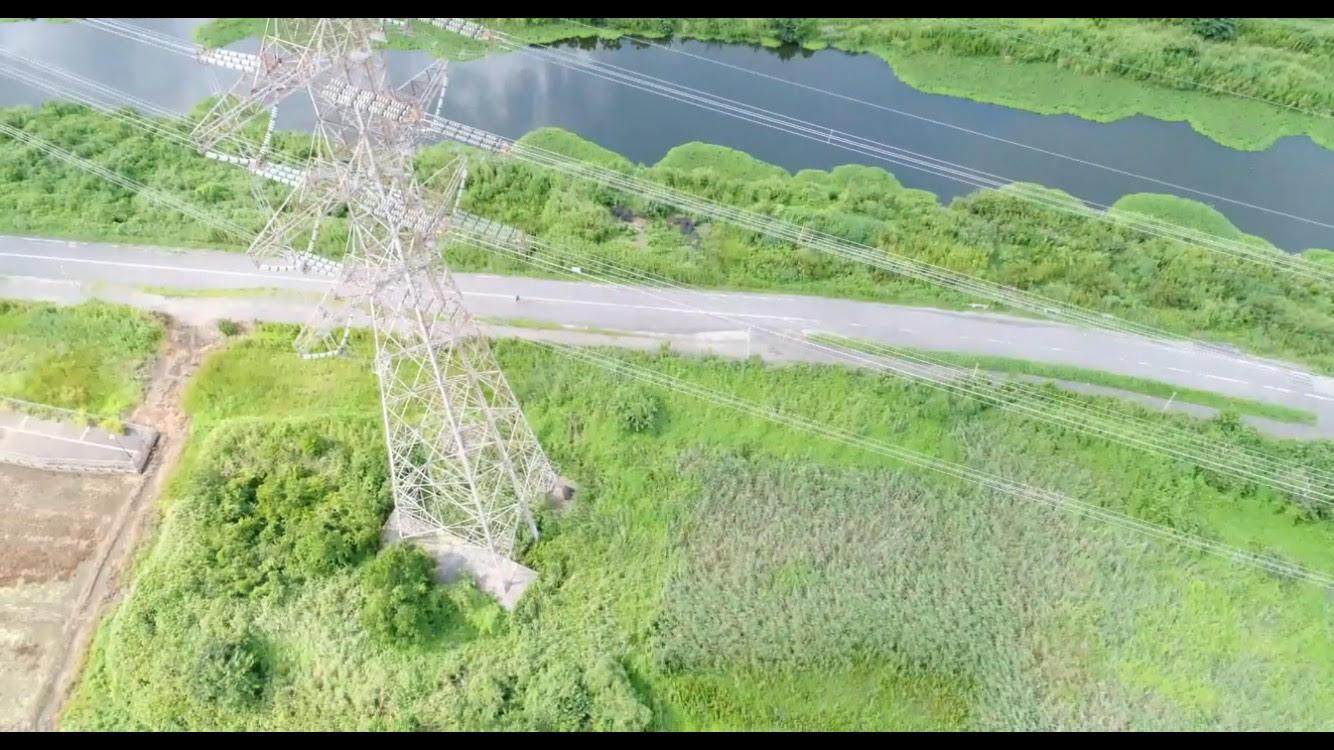 ドローンの天敵?「鉄塔」を空撮してみた。