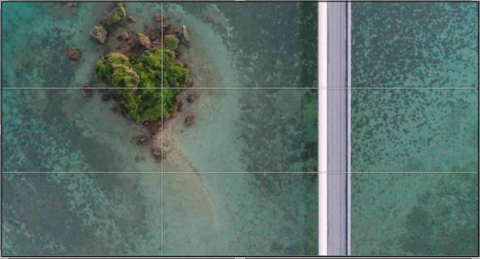 ドローンの空撮写真が上達するコツ5|構図はまず『3分割法』を押さえよう