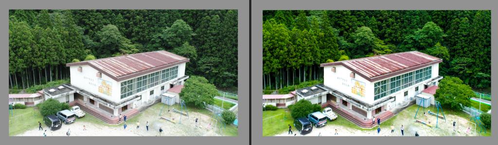 ドローンの空撮写真上達術6|対象物の収束線を意識する