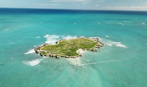 ハワイのおすすめ空撮スポット④ カイルアビーチ