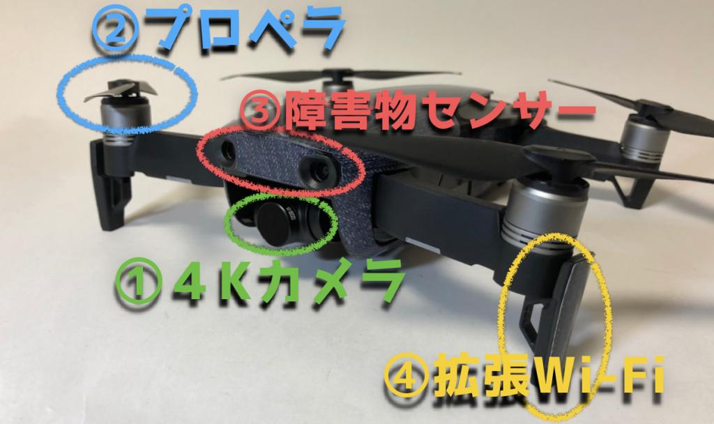 DJI新型ドローンMavic AIRの性能を日本一詳細に解説【マビックエア】