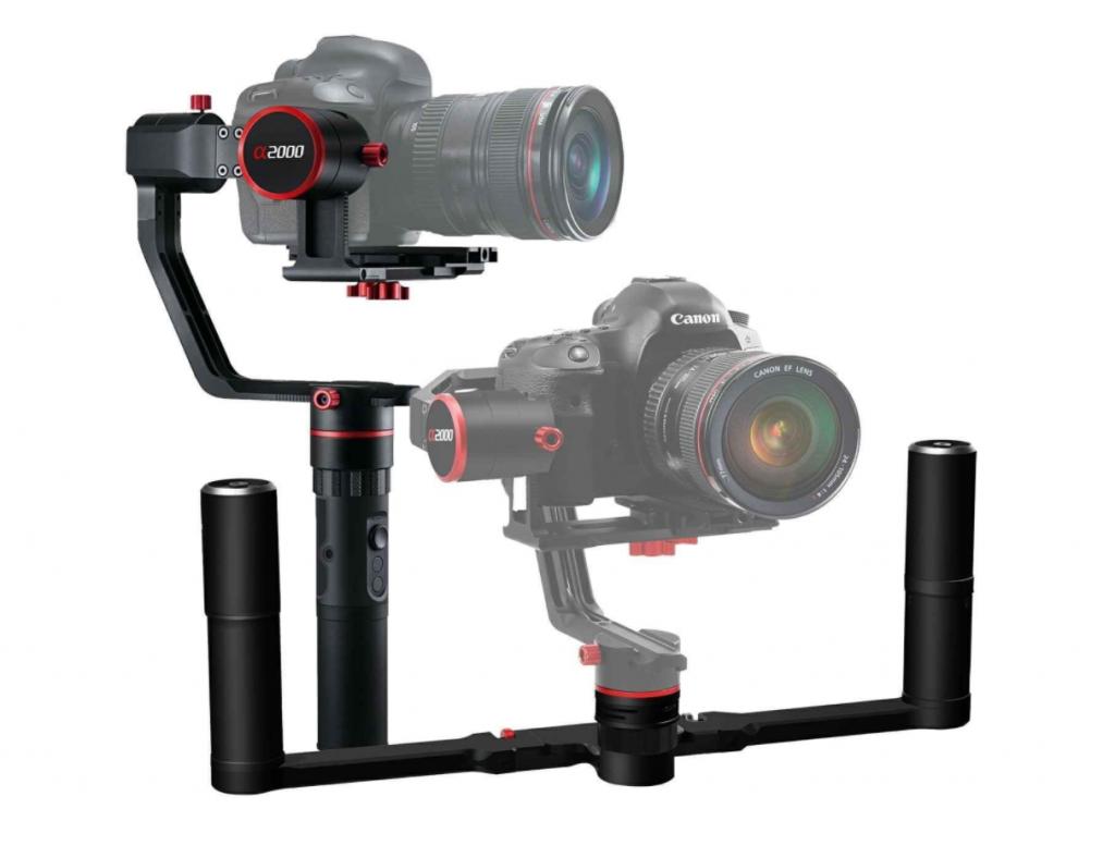 Feiyu Tech(フェイユーテック) α2000 ダブルハンドル付き 3軸カメラスタビライザー