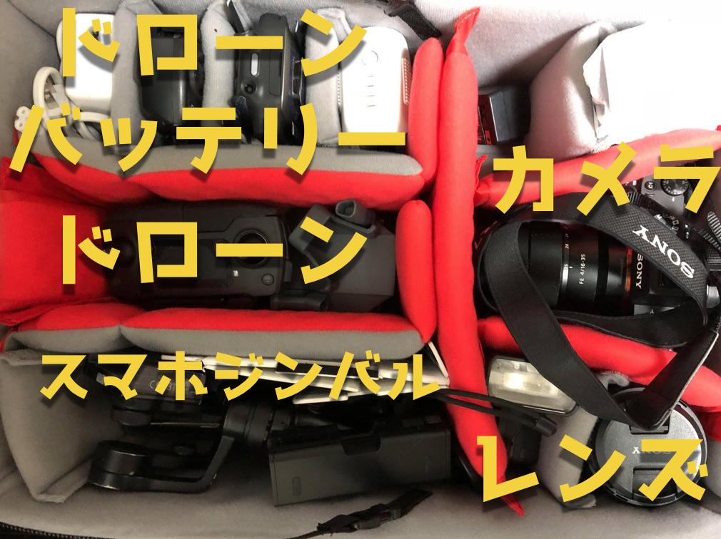 機内持ち込み可能なManfrotto(マンフロット)キャリーバッグ|カメラやドローンを収納可能