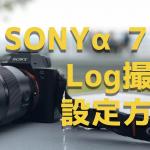 分かりにくい!SONYα7ⅡでLog(ログ)撮影の設定方法