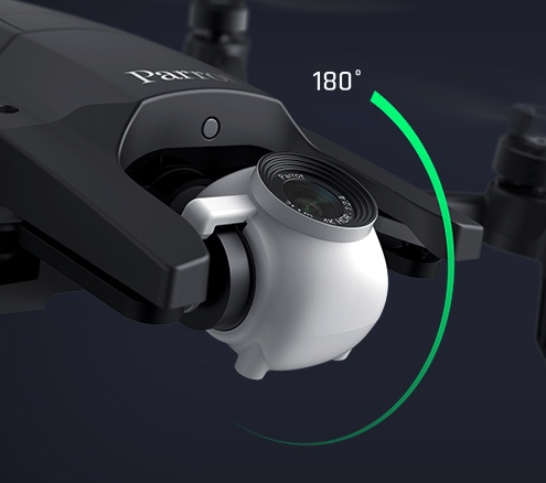 Parrotの新型ドローン『ANFFI』のカメラスペックが驚異的!2100万画素の2.8倍ズーム、真上撮影可能
