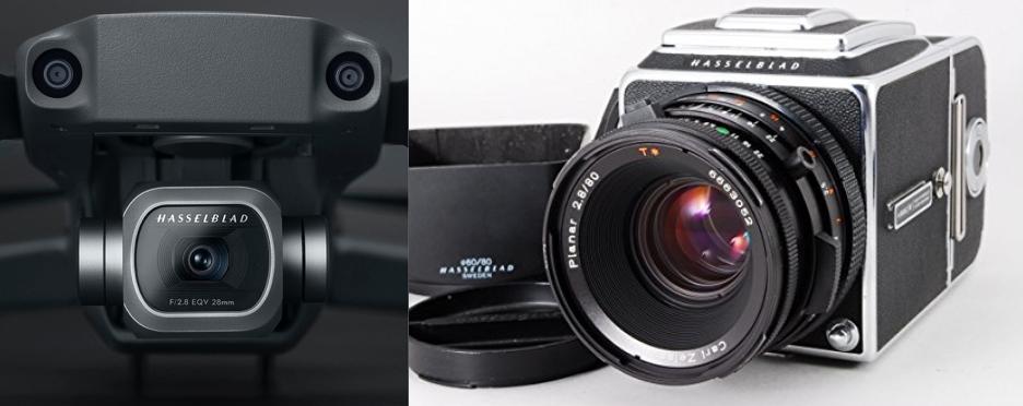 DJI新型『Mavic2Pro』をPhantom4Pro・MavicAIRのカメラスペックと比較!