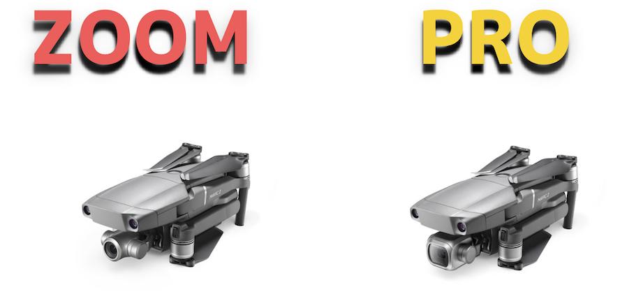 DJI新型『Mavic2Pro・ZOOM』とPhantom4Pro・MavicAIRの性能を徹底比較!