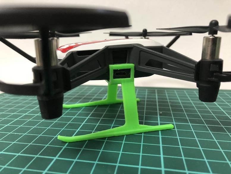 DJI Telloのドローン2つの弱点を『3Dプリンター』専用パーツで克服する