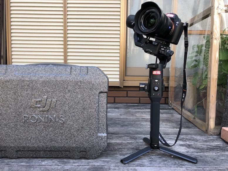 DJIカメラジンバル『RoninS』開封レビュー!初期設定とバランス調整方法を紹介