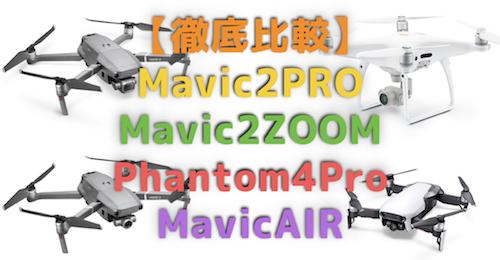 DJI Mavic 2 PRO・Mavic2ZOOM