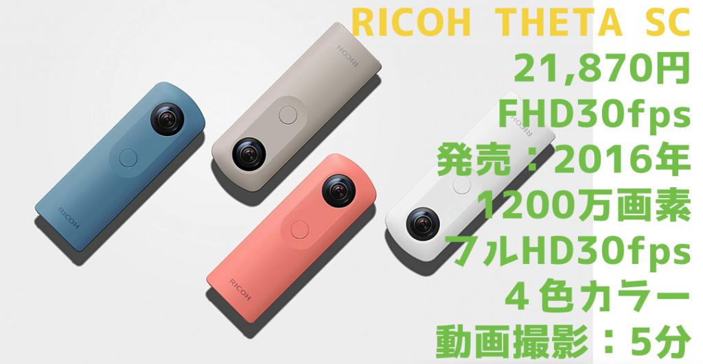 【2018年最新版】360度カメラ おすすめランキングベスト10《早見表付》