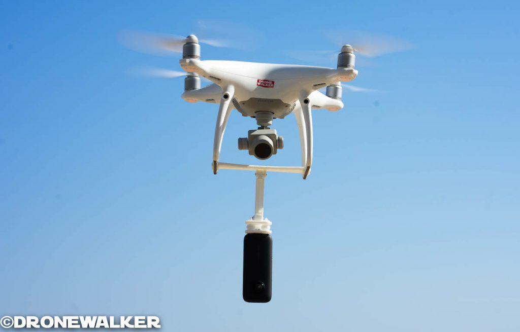 ドローンに360度カメラ『Insta360 ONE X』を搭載してVR動画を撮影する方法