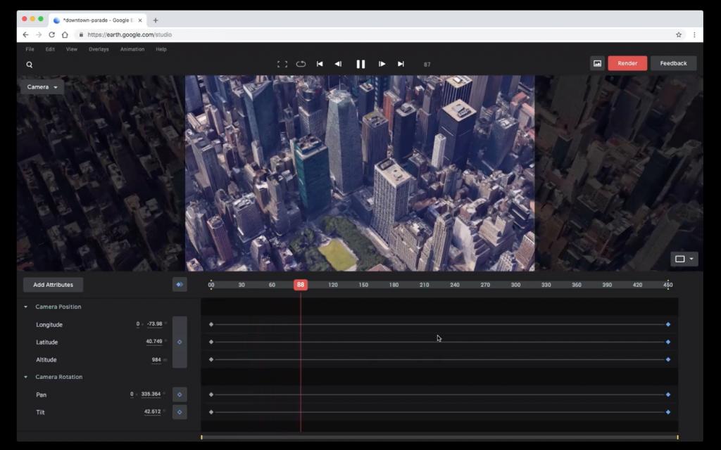 『Google Earth Studio』のおすすめ活用方法