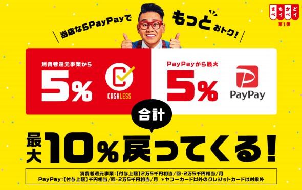 【2019年9月更新】PayPay(ペイペイ)が使えるお店・加盟店をまとめてみた