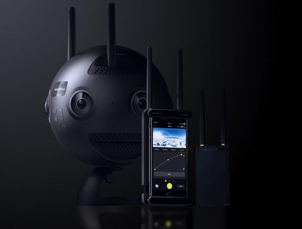 『Insta360 Pro2』は8KVR撮影可能