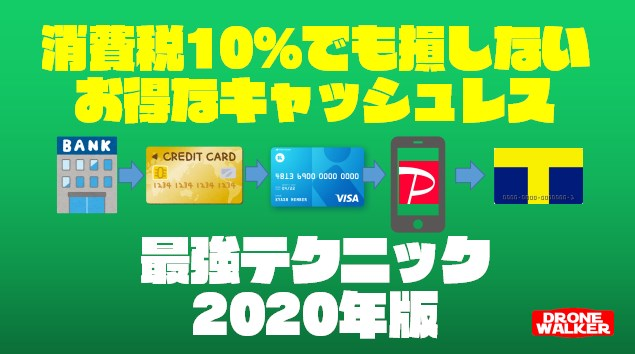 【2020年消費税10%対策】知らないと損する最強のキャッシュレス決済テクニック