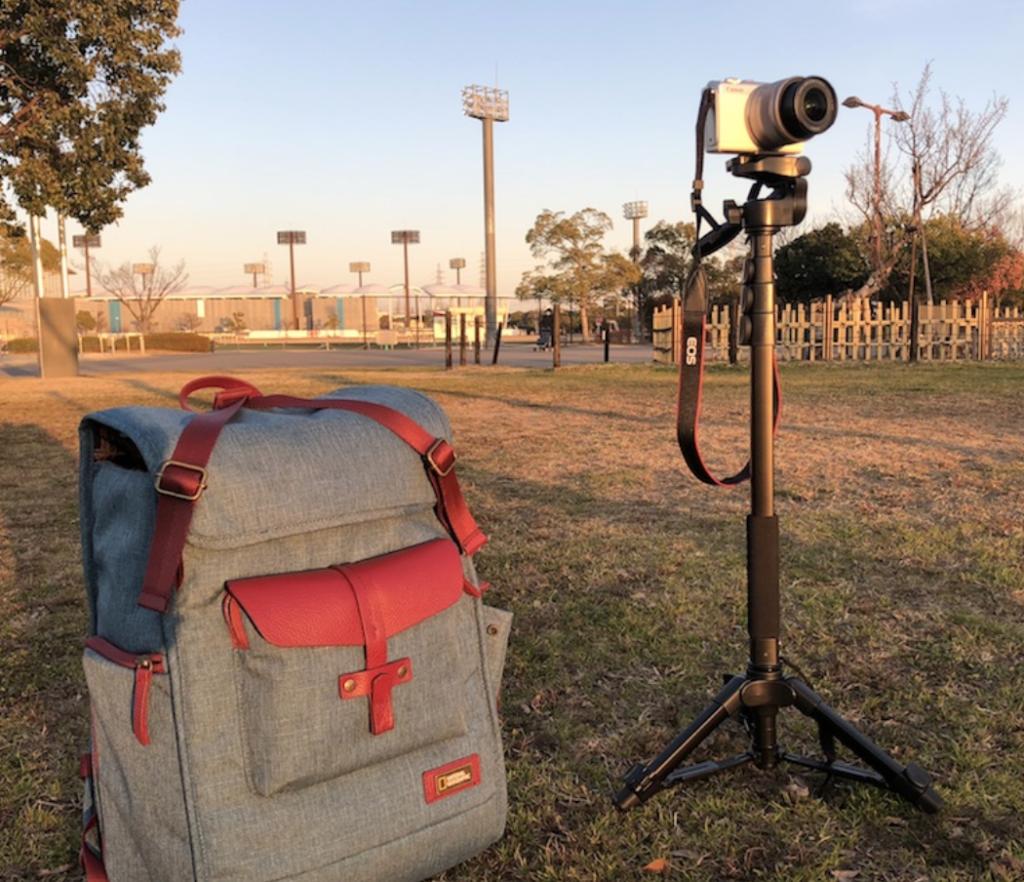 Amazonのおすすめグッズ|ベルボンのカメラ一脚