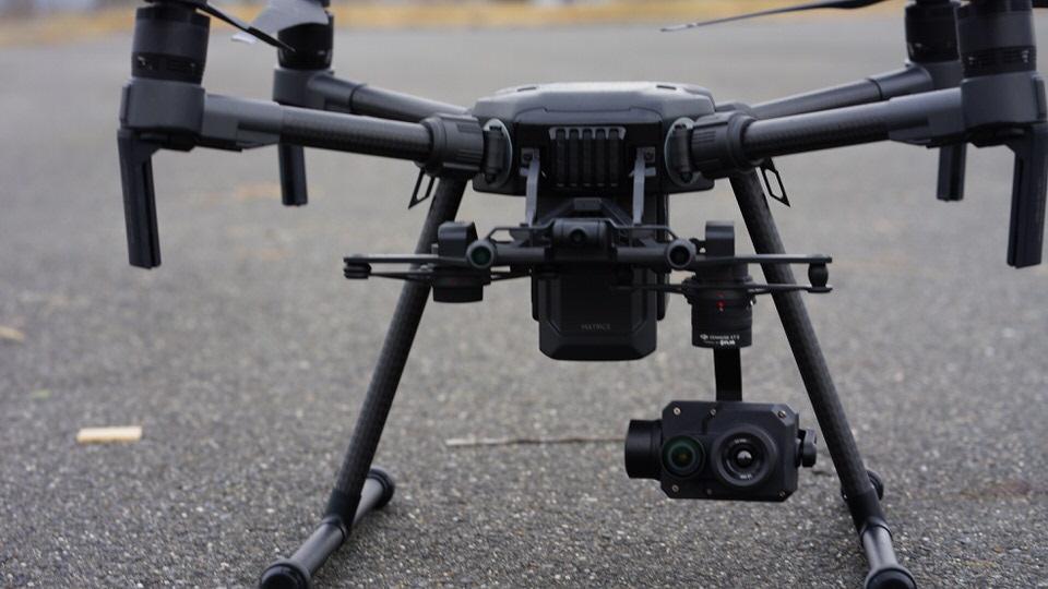 マトリス210|赤外線カメラ搭載ドローンの活用方法と特徴