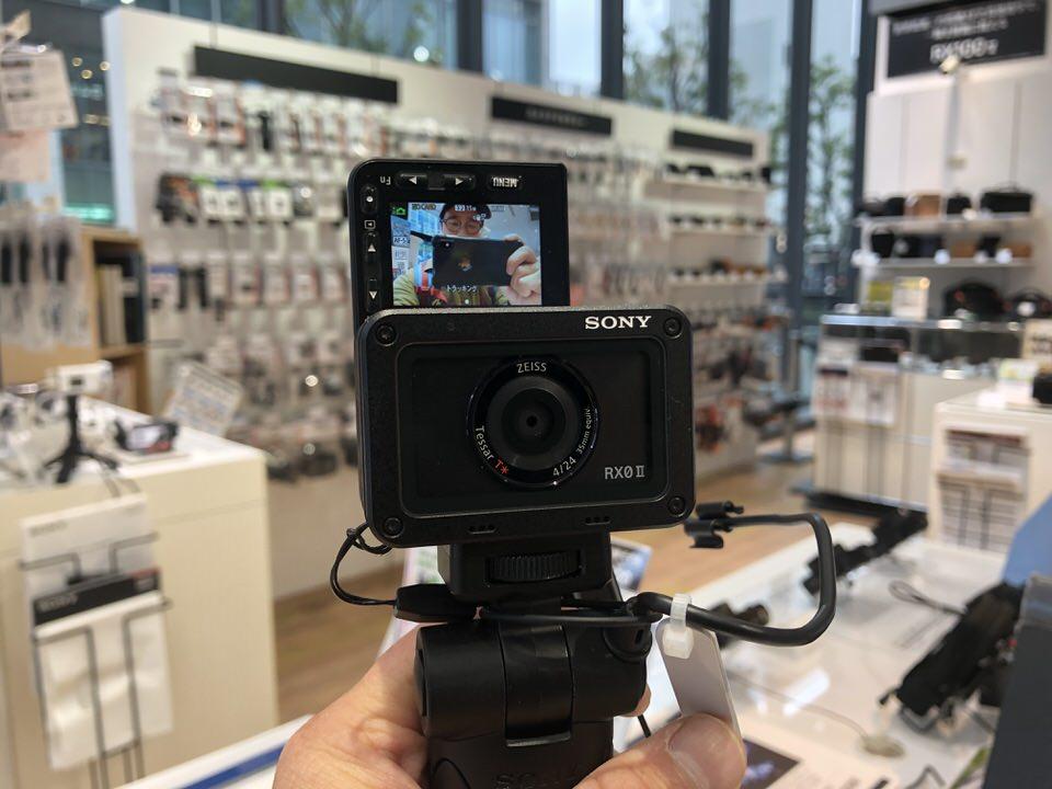 【SONY RX0 II】GoPro7やオズモポケットと比較!価格も判明