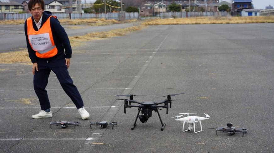 愛知県名古屋市で最大級の屋外でドローンが飛ばせる『名古屋江松飛行場』