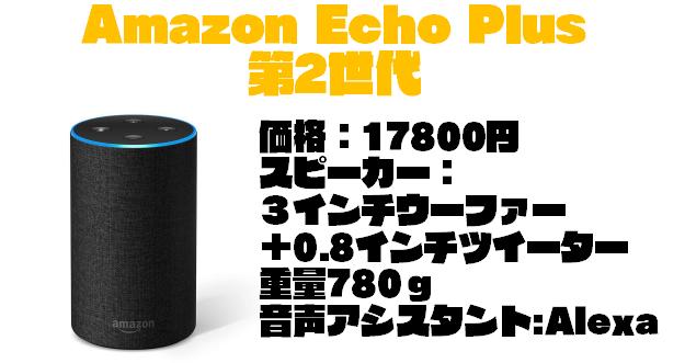 価格と性能で選ぶ『Amazon Echo』スマートスピーカーの選び方【2019年版】