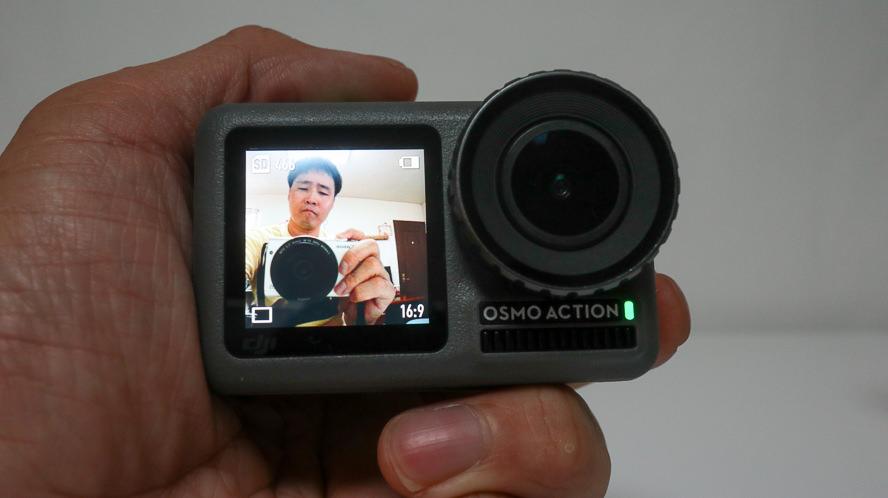【OSMO ACTION】オズモ アクションがGoPro7より優れているポイント