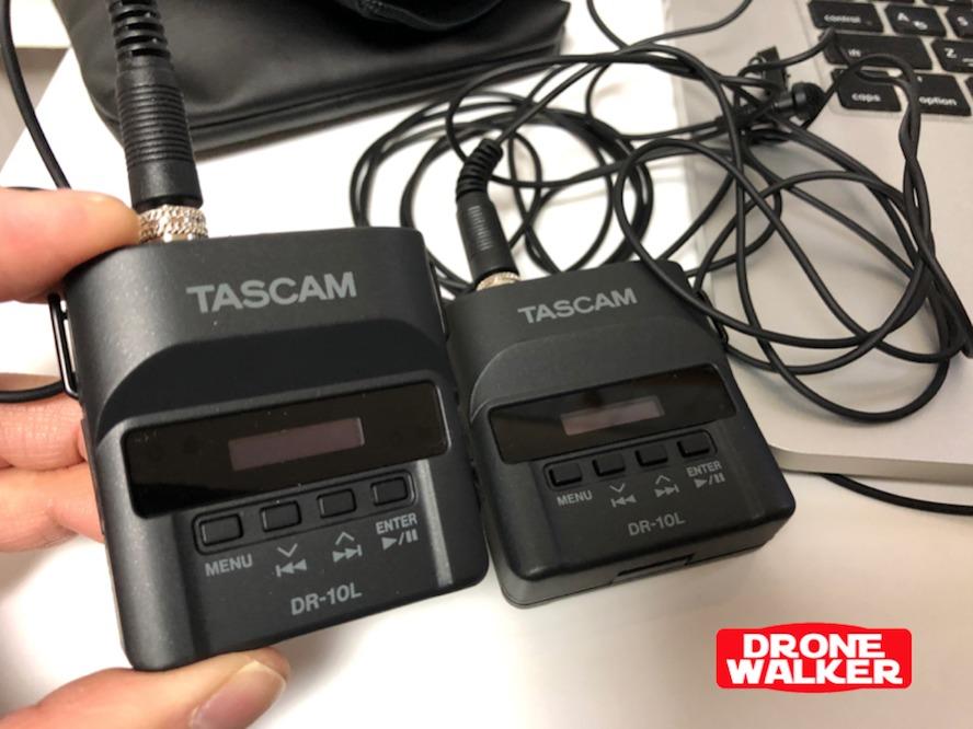 TASCAM (タスカム)/ ピンマイクレコーダー/DR-10L