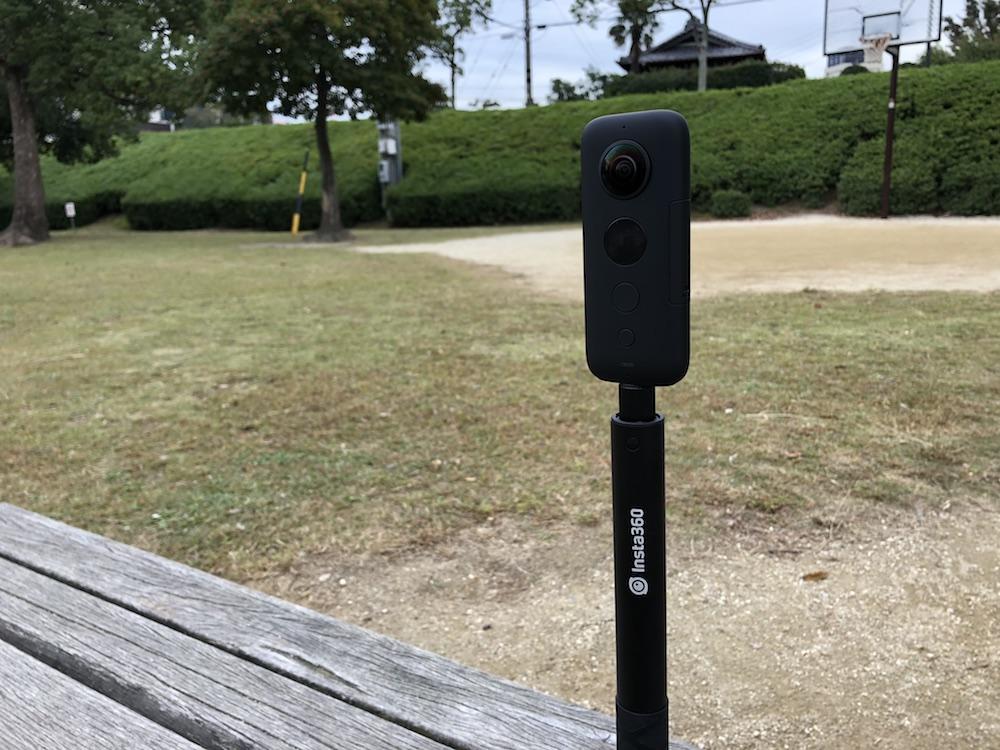 【360度カメラ】Insta360 one X