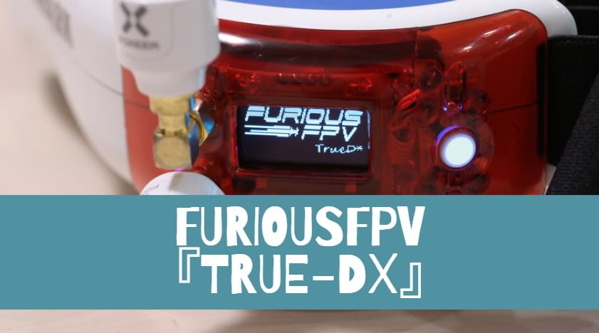 ゴーグルモジュールFuriousFPV 『TRUE-D X』