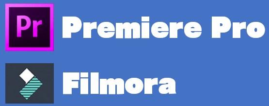 【Windows派】動画編集ソフトはFilmoraとPremiere Proがおすすめ!