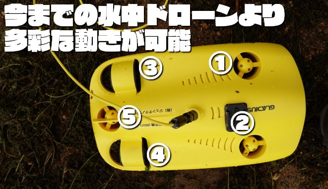 【水中ドローン】グラディウスミニの使い方と性能を紹介するよ!【GLADIUS MINI】