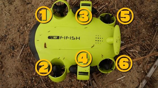 水中ドローン『FIFISH|ファイフィッシュ』の使い方
