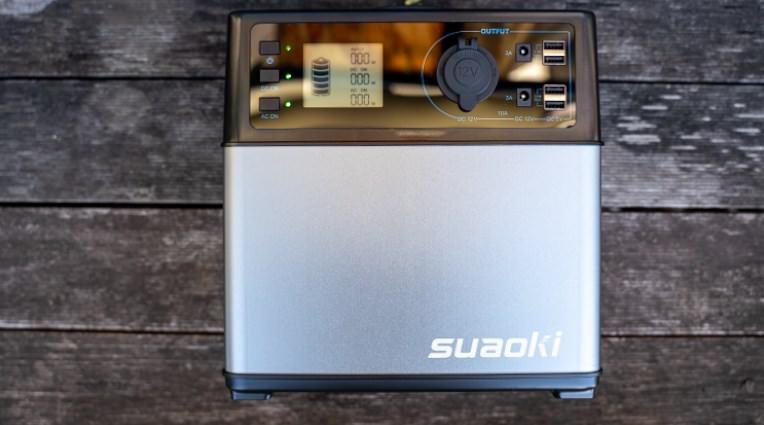 【大容量120000mAh】迷ったけど『suaokiのポータブル電源』にした理由