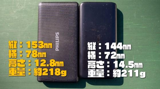 【コスパ抜群】PHILIPS モバイルバッテリー(10000mAh)レビュー