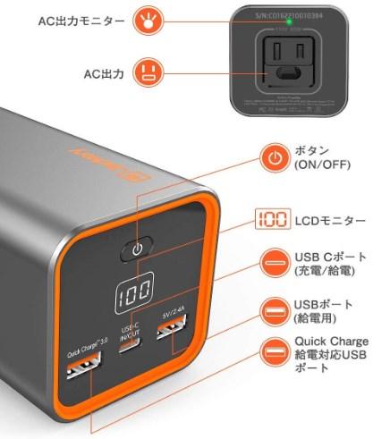 『ACアダプター』があるモバイルバッテリー・ポータブル電源を集めてみました