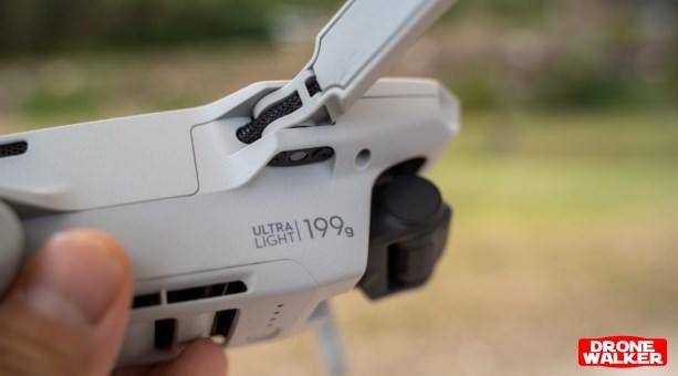 『Mavic Mini(マビックミニ)』【日本特別仕様】199gで航空法規制対象外
