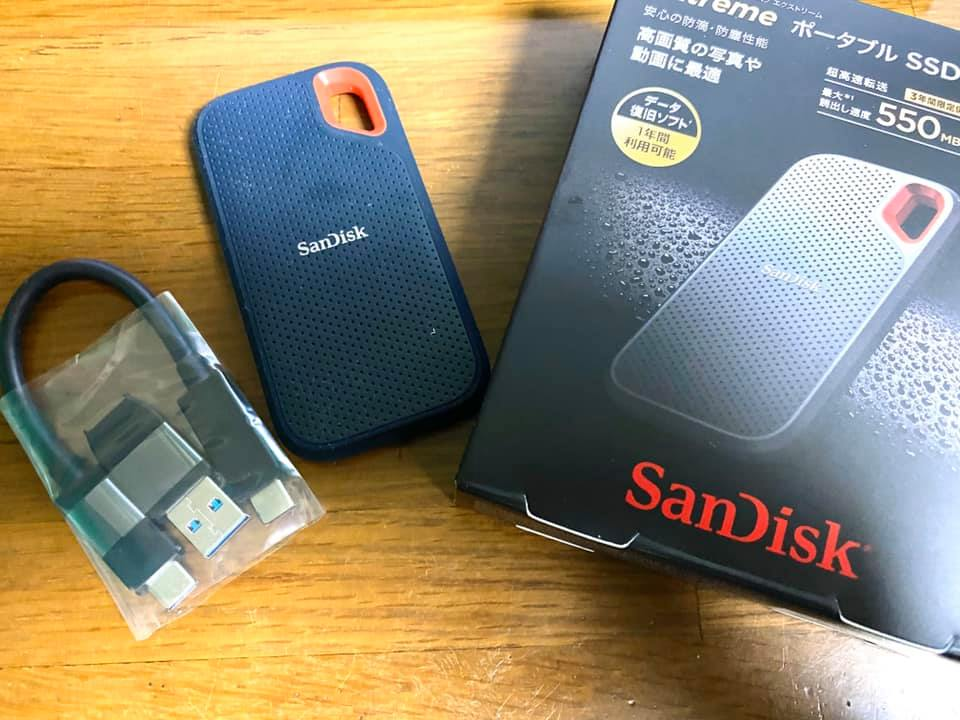 『サンディスクのSSD』が爆速&コンパクトすぎて今まで買わなかったことを後悔